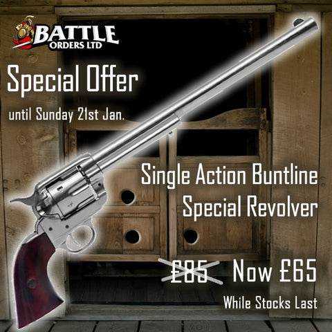 Single Action Buntline Special Revolver
