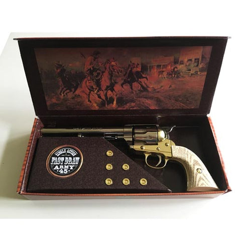 COLT 45 - CAVALRY NICKLE AND BRASS FINISH - 47-1064-1MN