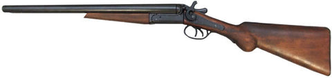 1860 Model Double Barrel Hammer Shot Gun Replica