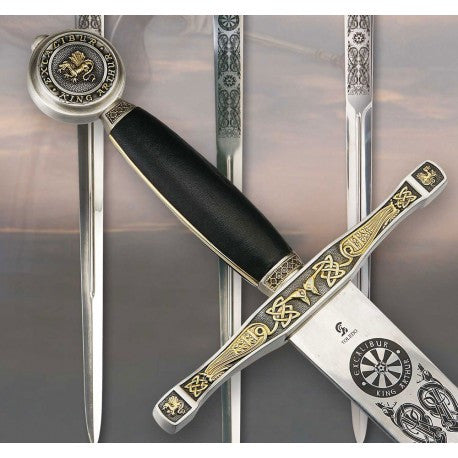 Excalibur - Black-Gold finish