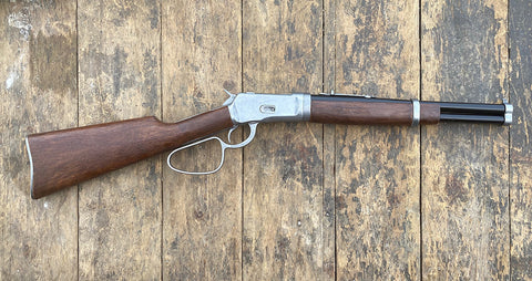 Winchester Carbine Western Lever Action Rifle Grey Finish