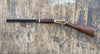 Winchester Western Lever Action Rifle Black and Brass Finish Wood Stock