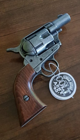 COLT 45 - SHORT BARRELLED  COLT - ANTIQUE GREY