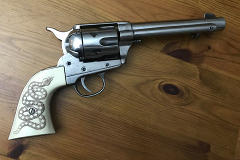 Western Frontier Model Steel Finish with Snake Grips