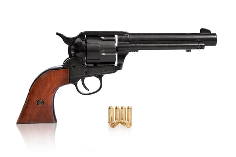 Colt 45 Western Frontier Replica Black finish - Wood Grips