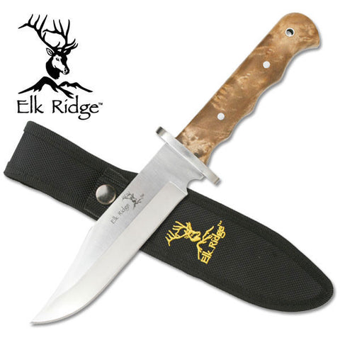"Elk Ridge FIXED BLADE KNIFE 10.5"" OVERALL"