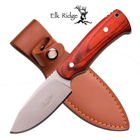 "Elk Ridge FIXED BLADE KNIFE 7.5"" OVERALL"