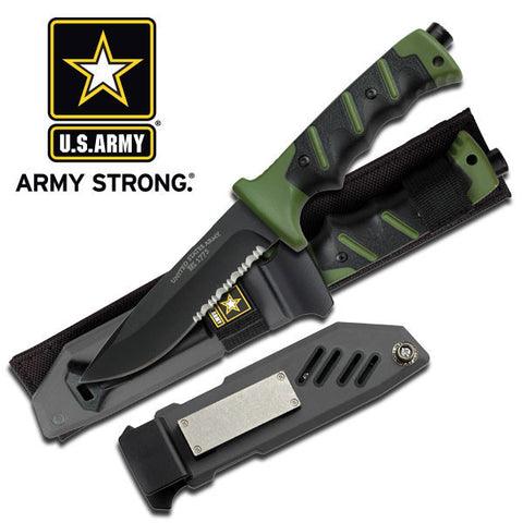 "US Army Fixed Blade Knife 10.25"" Overall - A-2001GN"