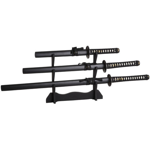 Samurai three sword set - A231