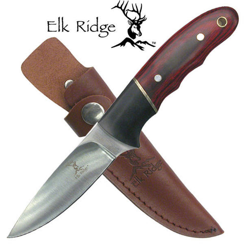 "Elk Ridge Fixed Blade Knife 7.5"" Overall - ER-029"