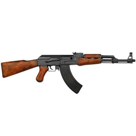 AK47 Metal replica with wooden stock - G1086