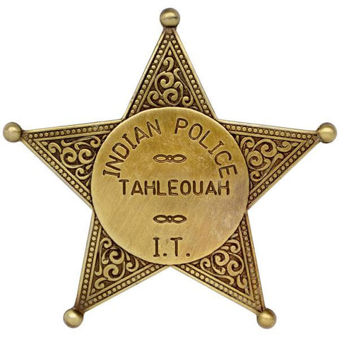 Indian Territory Police Badge - G108