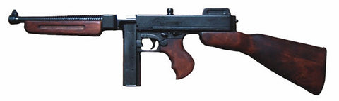 THOMPSON SUB MACHINE GUN MILITARY STYLE G1093