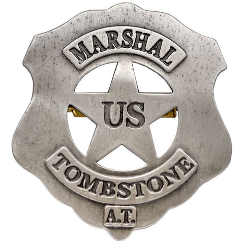 MARSHAL TOMBSTONE BADGE G105