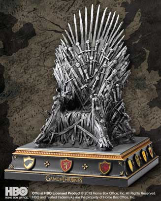 Iron Throne Bookend - NN0071