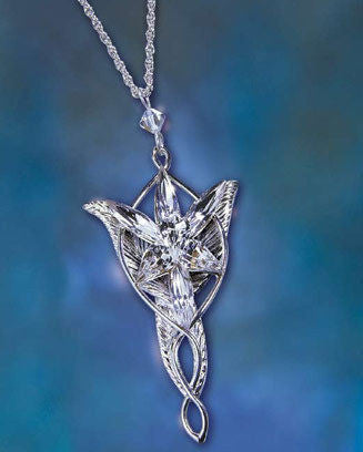 Lord of the Rings Arwen Evenstar Costume Jewellry Pendant Necklace Noble Gift  - NN9837