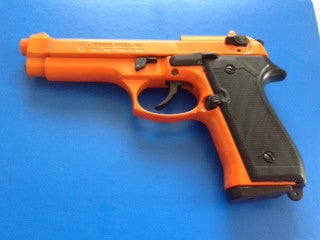 Model 92 Orange Blank Firing Pistol by Bruni - BF92O