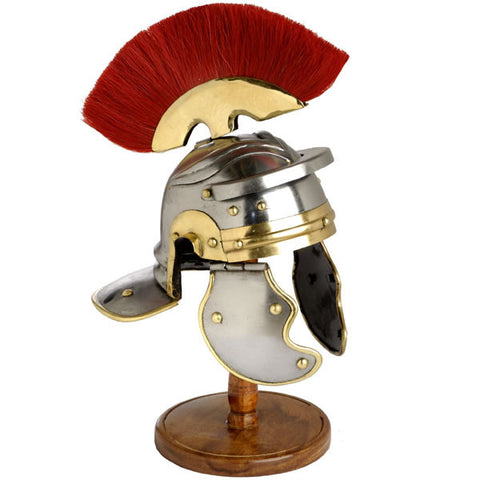 MINI ROMAN HELMET WITH PLUME - S5503/MINI