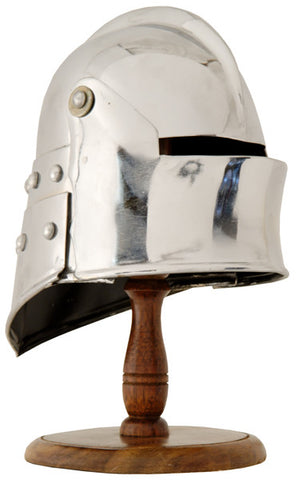 MINI SALLET HELMET WITH STAND - S5505/MINI