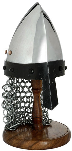 MINI NORMAN/SAXON HELMET WITH STAND - S5550/MINI