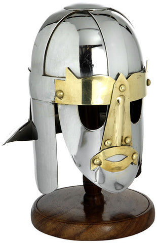 MINI SUTTON HOO HELMET WITH STAND - S5559/MINI