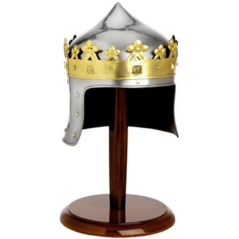 ROBERT THE BRUCE HELMET WITH STAND - S5568