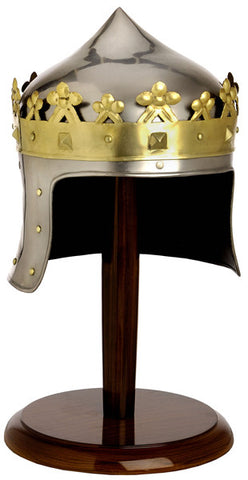 MINI ROBERT THE BRUCE HELMET WITH STAND - S5568/MINI