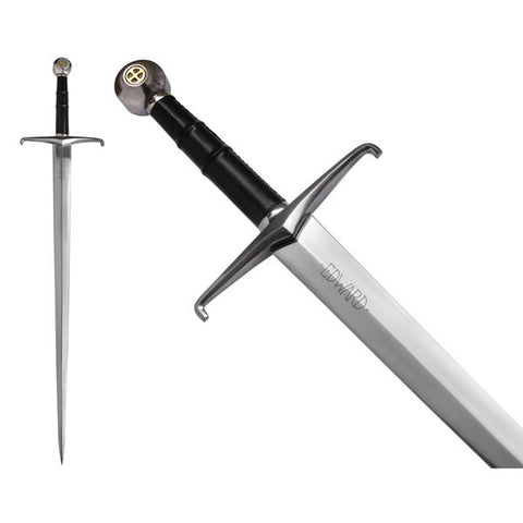 BLACK PRINCE SWORD BY JOHN BARNETT - S5775