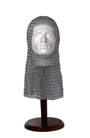 CHAINMAIL COIF - GALVANISED - S998