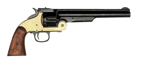Smith & Wesson JESSIE JAMES BLACK AND BRASS 1860's G1008L