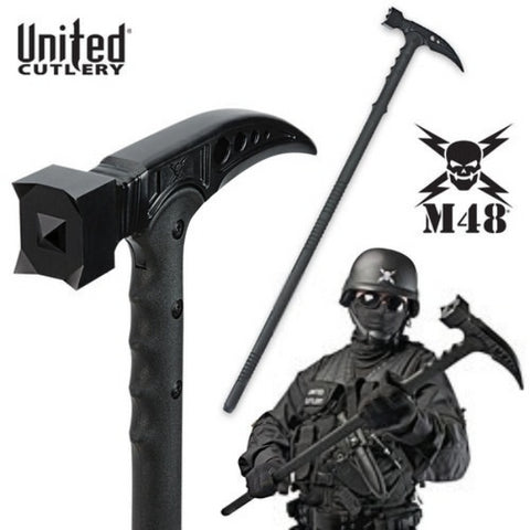 M48 Kommando Survival Hammer Tactical Hiking Staff - UC2960
