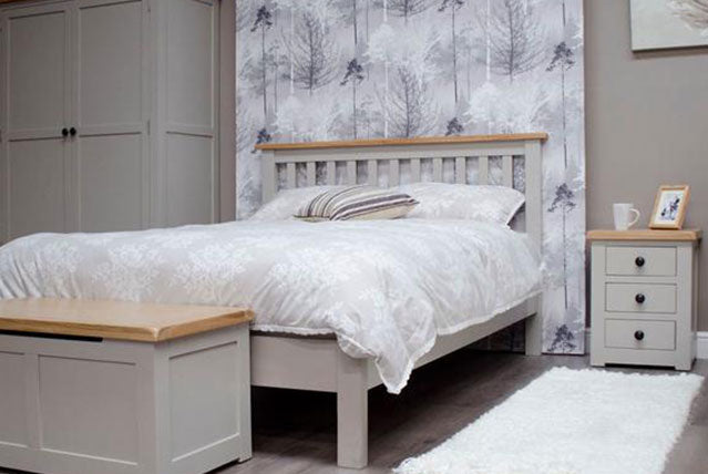 3. Cinza Oak & Grey Painted Bedroom Range