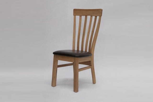 9. 100% Solid Oak Dining Chair Designs