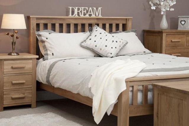 2. Florence Solid Oak Bedroom Range