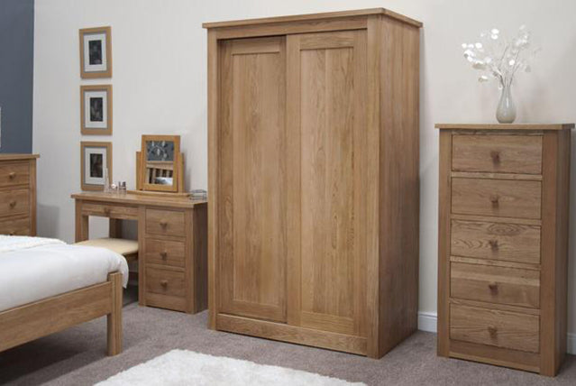 5. Valencia Deluxe Solid Oak Bedroom Range