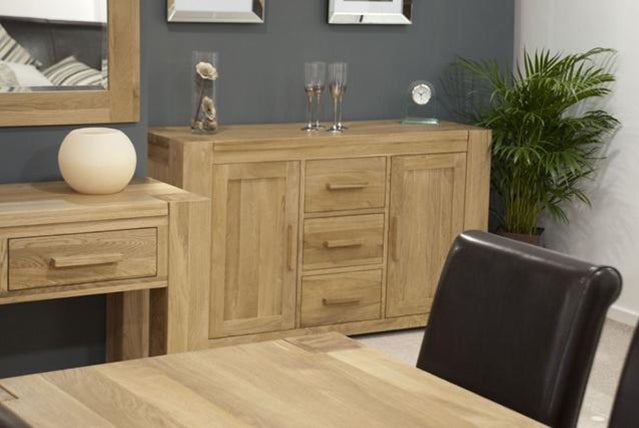 3. Barcelona Oak Living & Dining Range