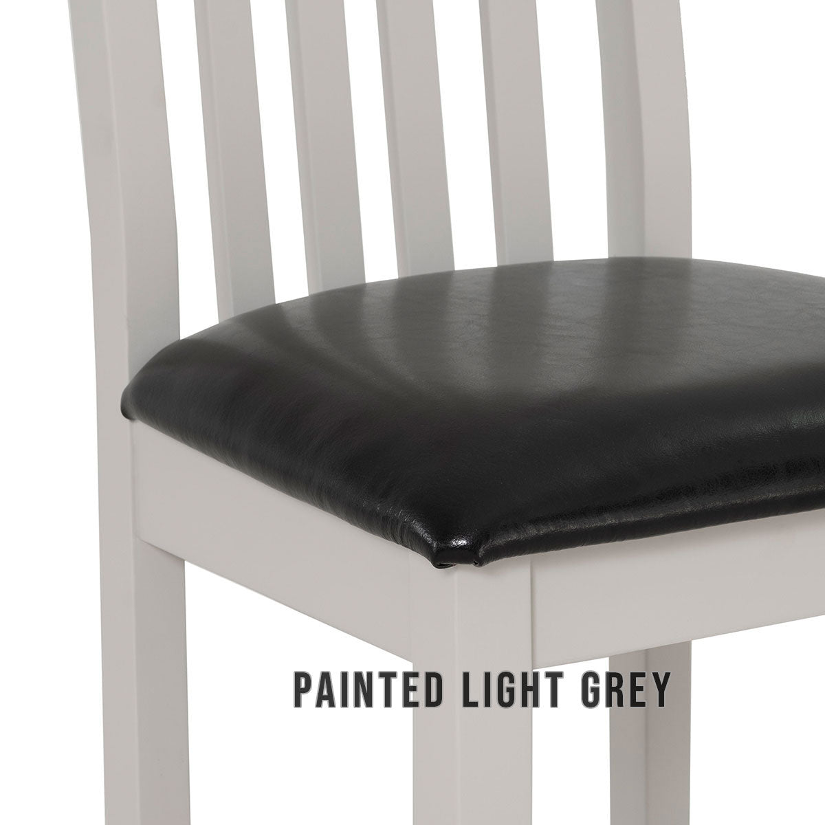 Dining Chair Bi-Cast Leather Seat