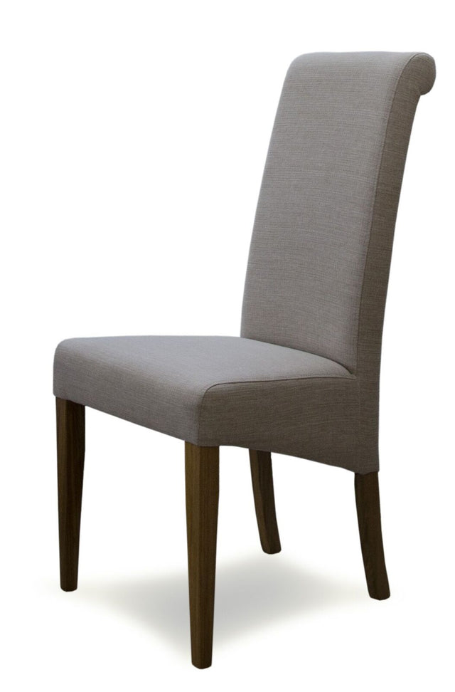 Beige Fabric Chair