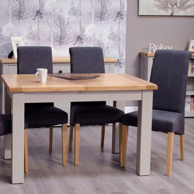 CINZA GREY SMALL EXTENDING TABLE