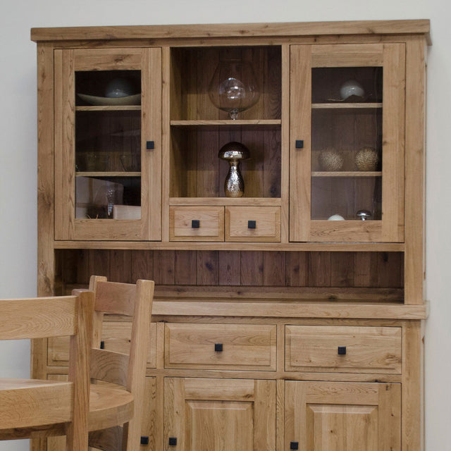 Elegance Large Sideboard Dresser Top Available In Natural Oak Or A Painted Finish