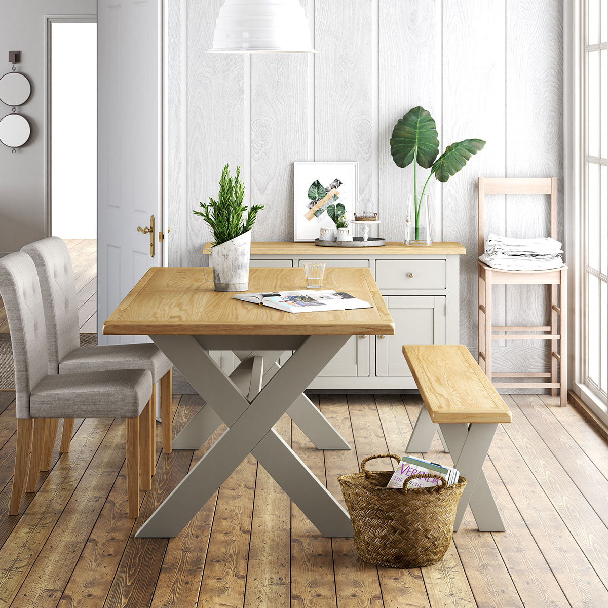 Guildford Small Extending Dining Table