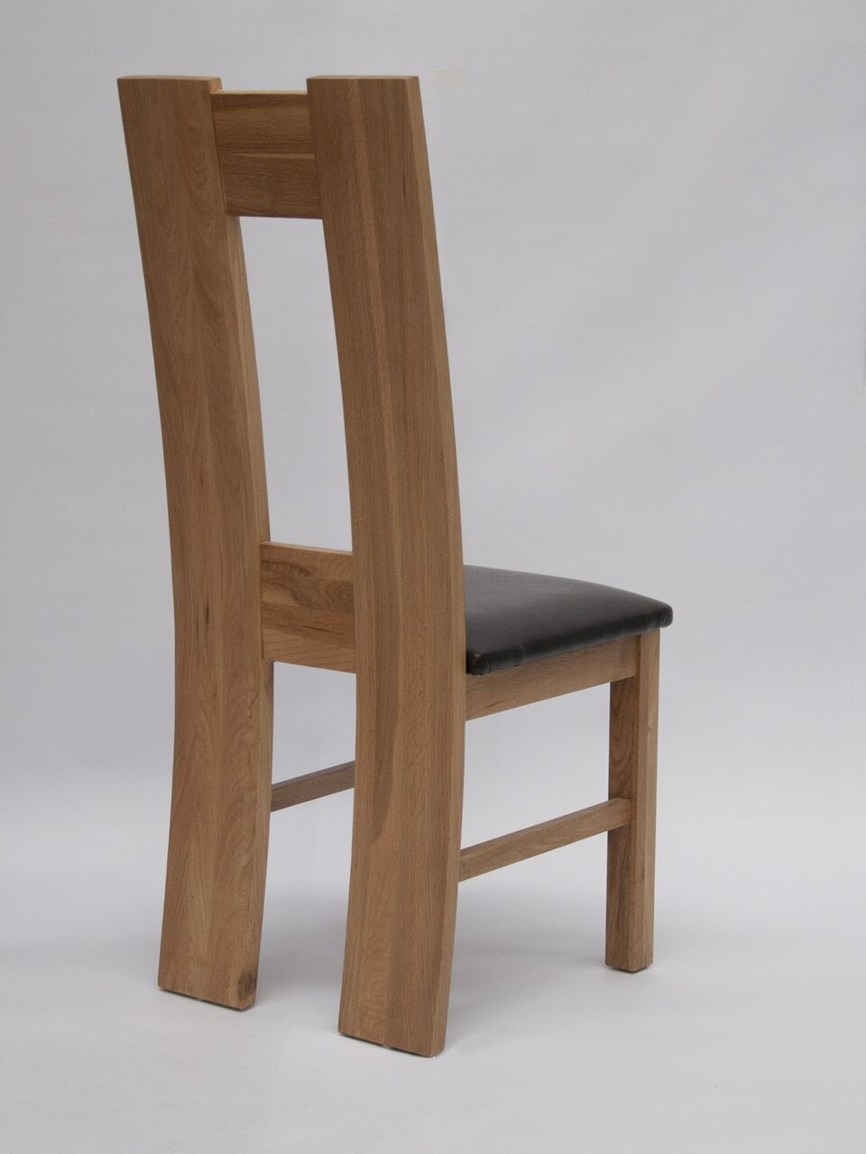 H BACK OAK CHAIR