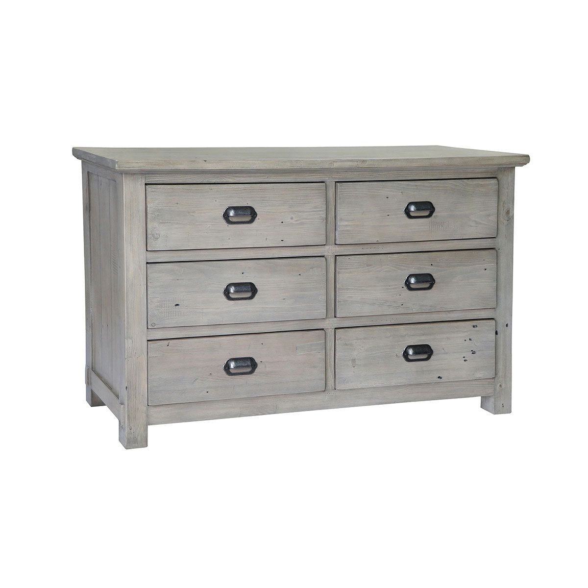 Homestead Reclaimed Wood 6 Drawer Chest