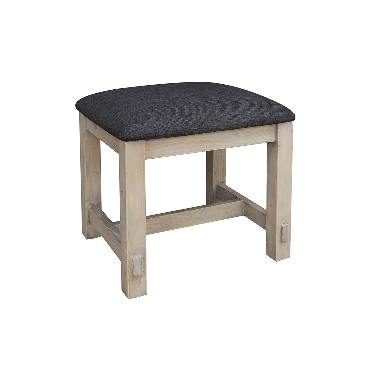 Homestead Reclaimed Wood Dressing Table Stool