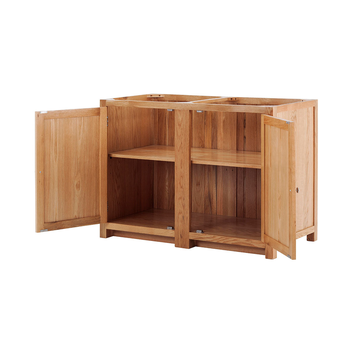 2 Door Cabinet with Shelf