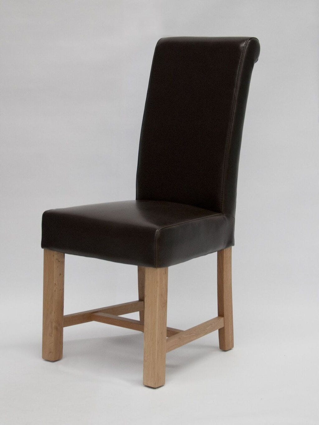 Louisa Brown Leather Chair