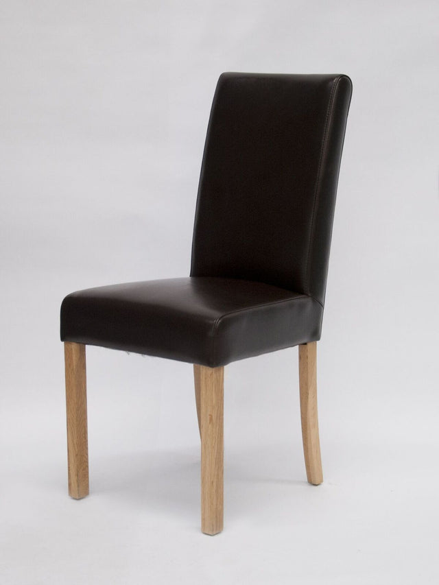 Marinna Brown Leather Chair