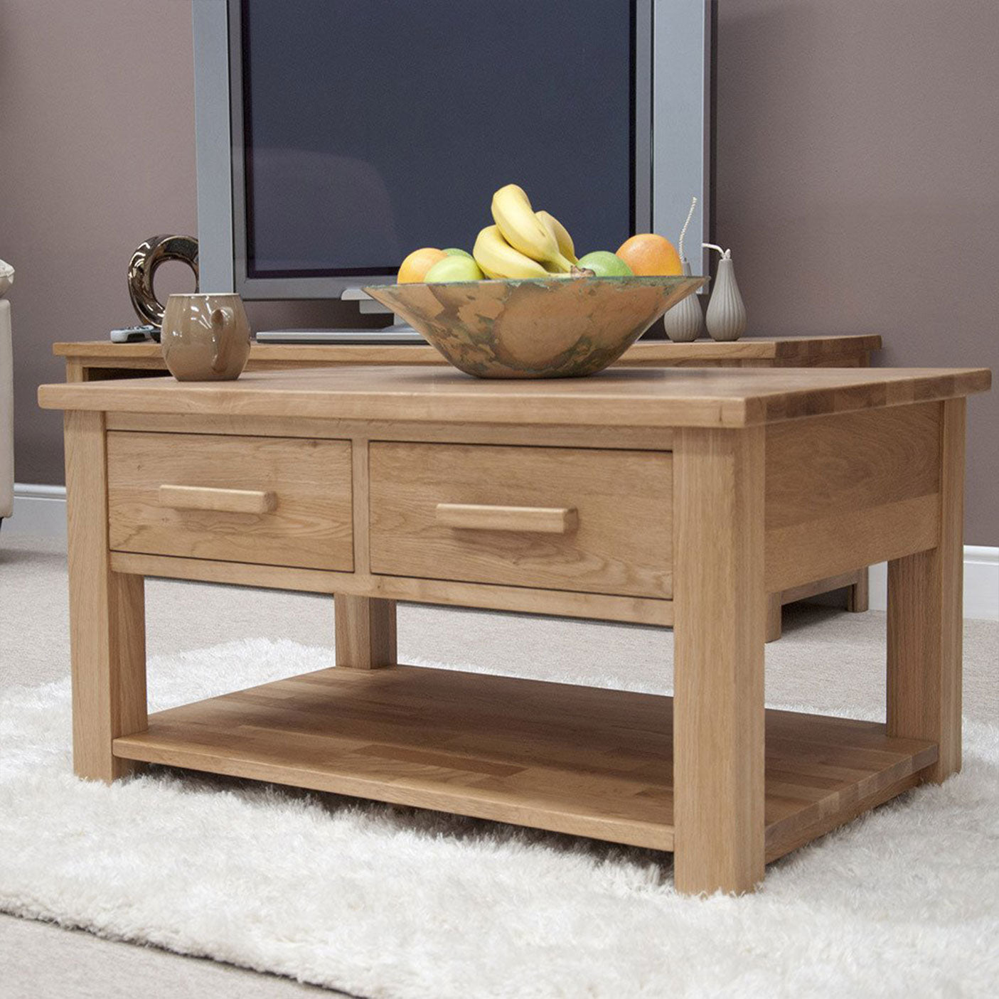 Florence Coffee Table With Drawers