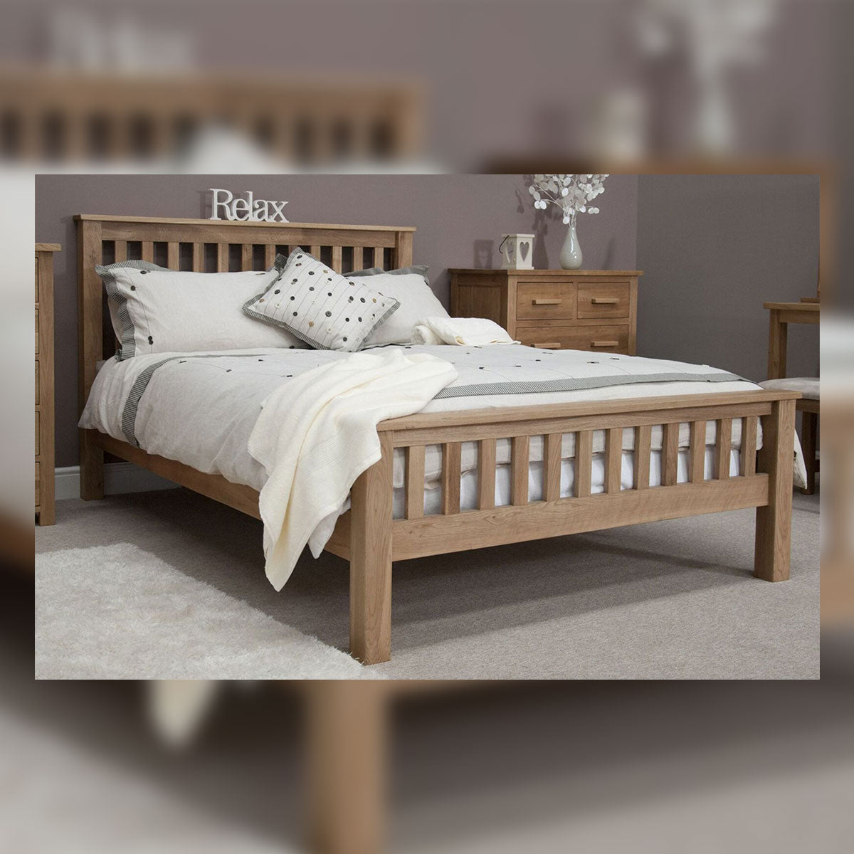 Florence Double Bed 4'6