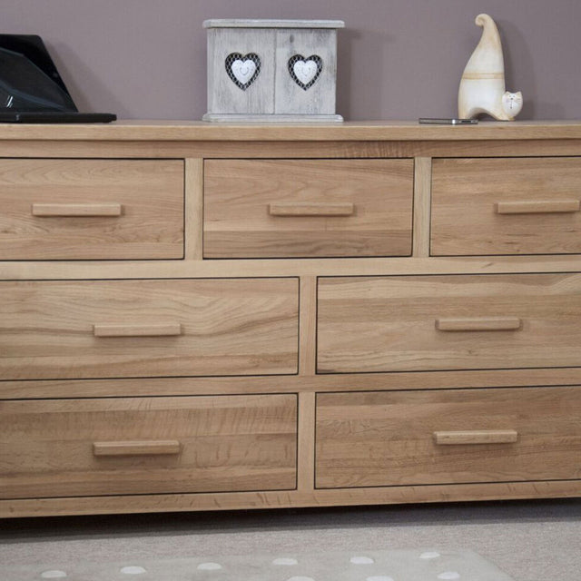 Florence 7 Drawer Wide Chest Of Drawers
